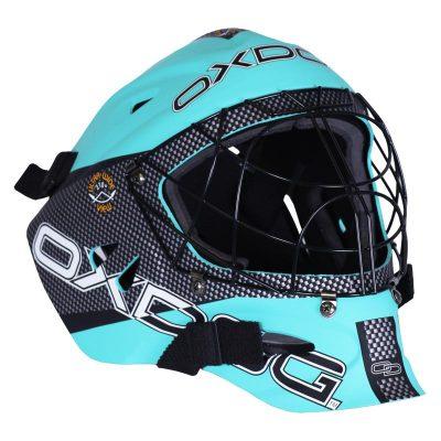 Målvaktshjälm Oxdog Tour Helmet SR Tiffany Blue