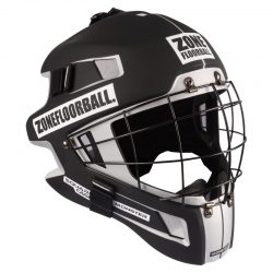 Målvaktshjälm Zone Goalie Mask Monster Square Cage Black/White