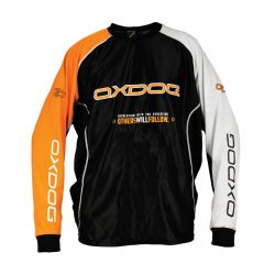 Målvaktströja Oxdog Tour Goalie Shirt Black/Orange (No Padding)