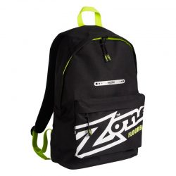 Ryggsäck Zone Backpack Eyecatcher Black/White/Lime