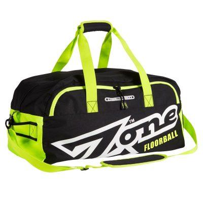Sportväska Zone Sport Bag Eyecatcher Medium Black/White/Lime