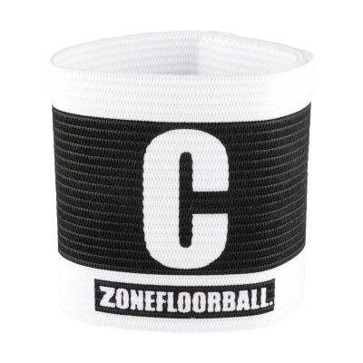 Kaptensbindel Zone Captains Badge General Black/White