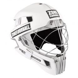 Målvaktshjälm Zone Goalie Mask Monster Cat Eye Cage White/Black