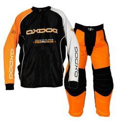 Målvaktskläder Oxdog Tour Goalie Orange/Black