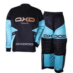 Målvaktskläder Oxdog Vapor Goalie Tiffany Blue/Black JR