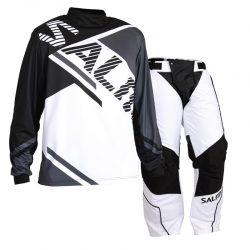 Målvaktskläder Salming Atilla Grey/Black/White SR