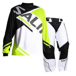 Målvaktskläder Salming Atilla Yellow/Black/White SR