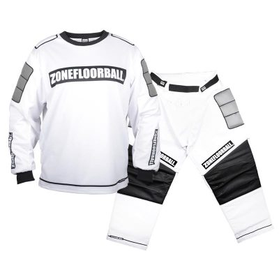 Målvaktskläder Zone Goalie Monster White/Black