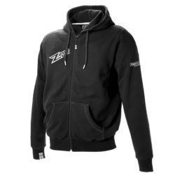 Huvtröja Zone Hood Zip Ironman Black