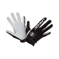 Målvaktshandskar Unihoc Goalie Gloves Pro Black/White (bild)
