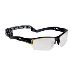 Innebandyglasögon Fat Pipe Protective Eyewear Set JR Black/Gold (bild)