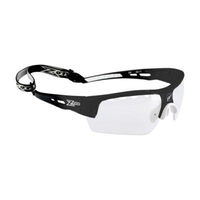 Innebandyglasögon Zone Eyewear Matrix Sport Glasses Senior All Black (bild)