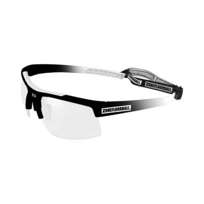Innebandyglasögon Zone Eyewear Protector Sport Glasses Black/White (bild)
