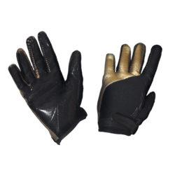 Målvaktshandskar Fat Pipe GK-Gloves Black/Gold (bild)