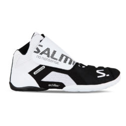 Målvaktsskor Salming Slide 5 Goalie Shoe White/Black (bild)