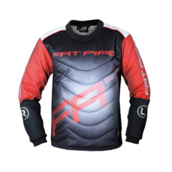 Målvaktströja Fat Pipe GK-Junior Shirt Black/Red (bild)