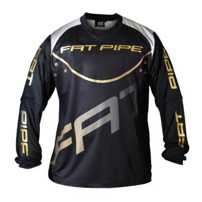 Målvaktströja Fat Pipe GK-Shirt Black (bild)