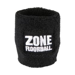 Svettband Zone Wristband Retro Black 2-pack (bild)