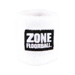 Svettband Zone Wristband Retro White 2-pack (bild)