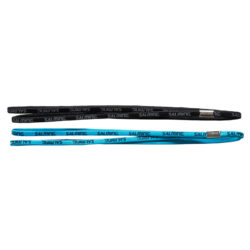 Salming Twin Hairband 2-pack Danube Blue/Black (bild)