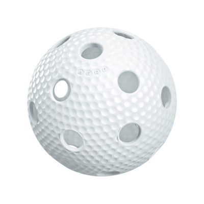 Innebandyboll Salming Aero Floorball White (bild)