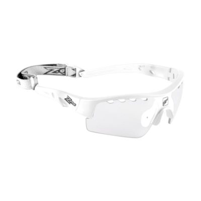 Innebandyglasögon Zone Eyewear Matrix Sport Glasses Junior All White (bild)