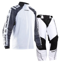 Målvaktskläder Salming Atilla White/Black SR