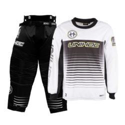 Målvaktskläder Unihoc Inferno White/Black SR