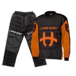 Målvaktskläder Unihoc Shield Orange/Black JR