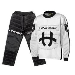 Målvaktskläder Unihoc Shield White/Black JR