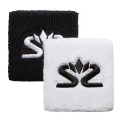 Salming Wristband Short 2-pack White/Black (bild)