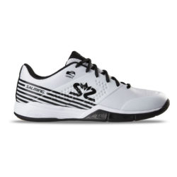 Innebandyskor Salming Viper 5 Men Shoe White/Black (bild)