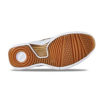 Innebandyskor Salming Viper 5 Women/Junior Shoe White/Gold