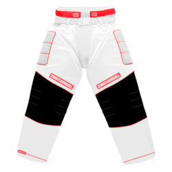 Målvaktsbyxor Zone Goalie pants Monster2 All White/Red (bild)