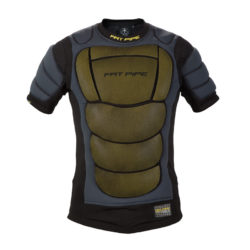Målvaktsväst Fat Pipe GK-Protective Shirt XRD Padding Black (bild)