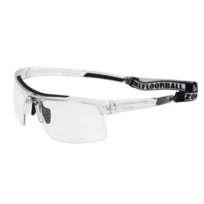 Innebandyglasögon Zone Eyewear Protector Sport Glasses SR Transparent/Black (bild)