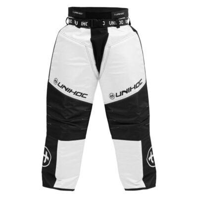 Målvaktsbyxor Unihoc Goalie Pants Keeper Black/White (bild)