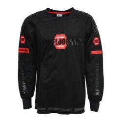 Målvaktströja Zone Goalie Sweater Pro Black/Red (bild)