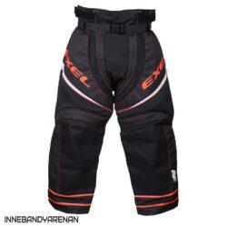 Målvaktsbyxor Exel S100 Goalie Pants Black/Orange
