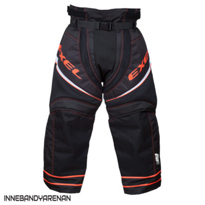 Målvaktsbyxor Exel S100 Goalie Pants Black/Orange